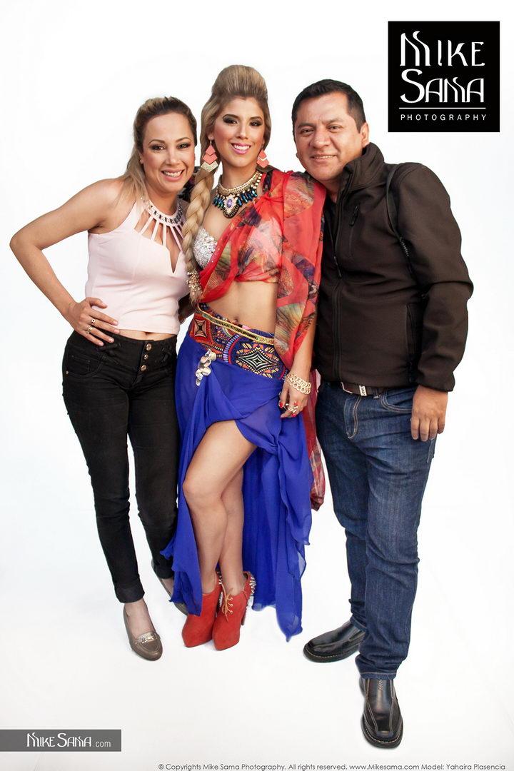 Backstage con YAHAIRA PLASENCIA